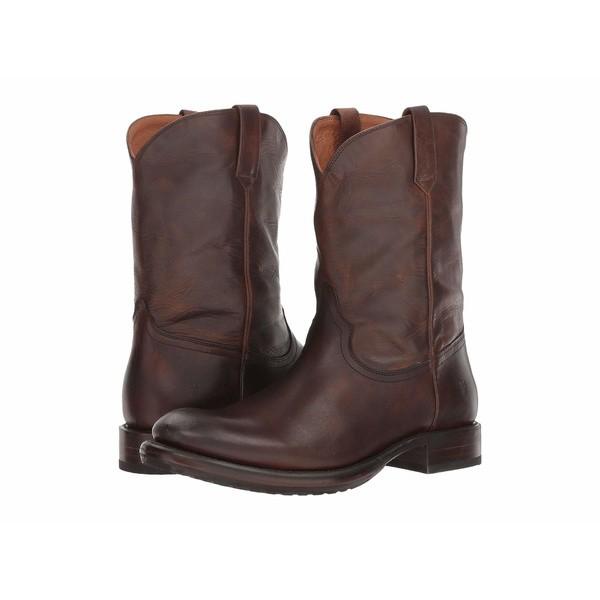 【送料無料】 フライ メンズ ブーツ&レインブーツ シューズ Duke Roper Dark Brown Antique Pull-Up, 送料0円 家具 ccf8e3ff