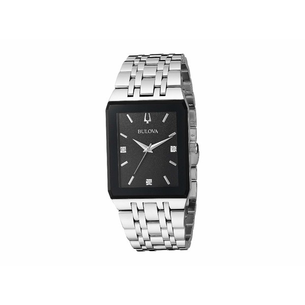 【売れ筋】 ブロバ - メンズ 腕時計 腕時計 ブロバ アクセサリー Quadra - 96D145 Steel, 様似郡:dc44d1cc --- schongauer-volksfest.de