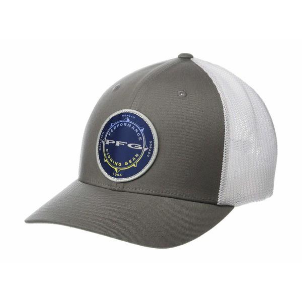 コロンビア メンズ 帽子 アクセサリー PFG Mesh Seasonal Ball Cap Titanium/White