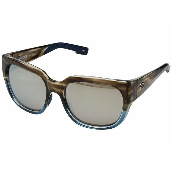 【残りわずか】 コスタ レディース サングラス&アイウェア アクセサリー Waterwoman Copper Silver Mirror 580G/Shiny Wahoo Frame, 輸入雑貨ピナコテカ 94a5a88d