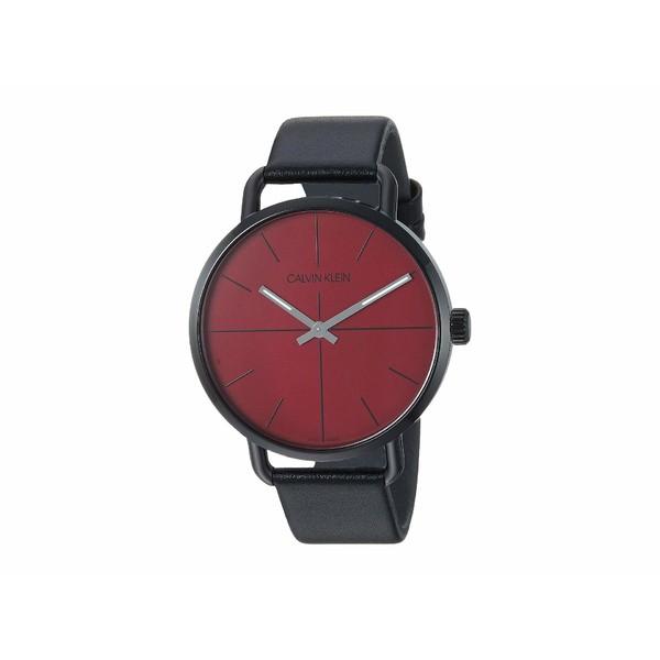 ビッグ割引 カルバンクライン メンズ 腕時計 アクセサリー Even - K7B214CP Black/Red, バッグ&雑貨のハイスタイル fb631890