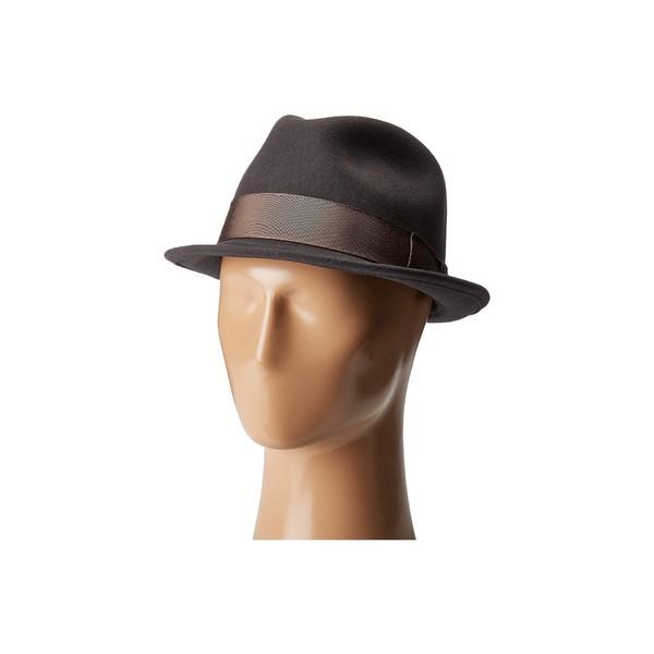 カントリージェントルマン メンズ 帽子 アクセサリー Floyd Traditional Wool Fedora Hat Slate
