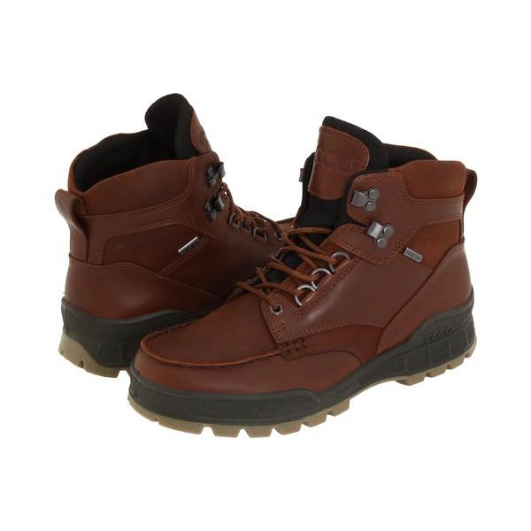 【限定セール!】 エコー メンズ ブーツ&レインブーツ シューズ Track II GTX High Bison Leather/Bison Oiled Nubuck, 阿武郡 6c678e00
