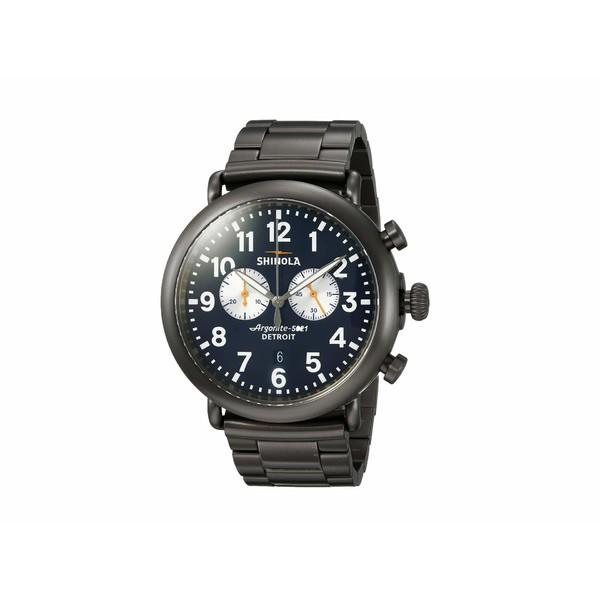 正規激安 シノラ メンズ 腕時計 アクセサリー The Runwell 47mm - 20062178 Gunmetal/Navy Blue, ビックスマーケット 4ede89e2