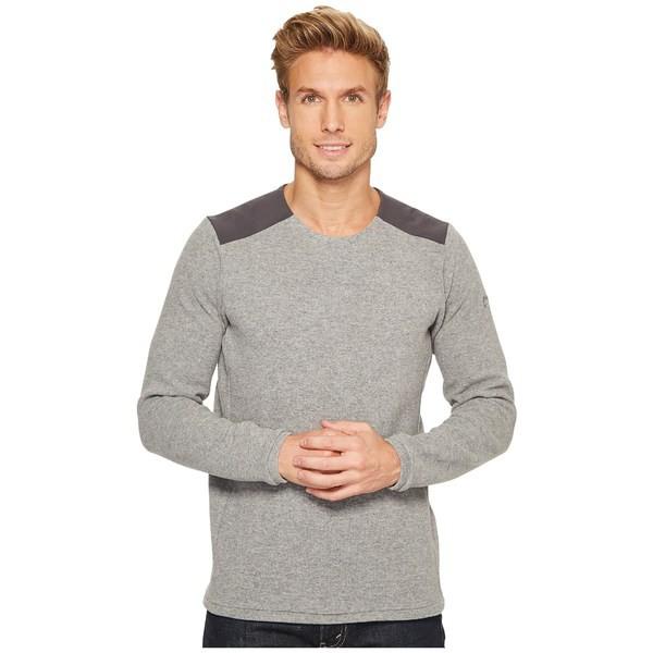 【あすつく】 アークテリクス メンズ ニット&セーター Grey アウター Donavan Crew Sweater Neck Sweater Crew Light Grey Heather, エビスマーケット:afc3c5ce --- united.m-e-t-gmbh.de