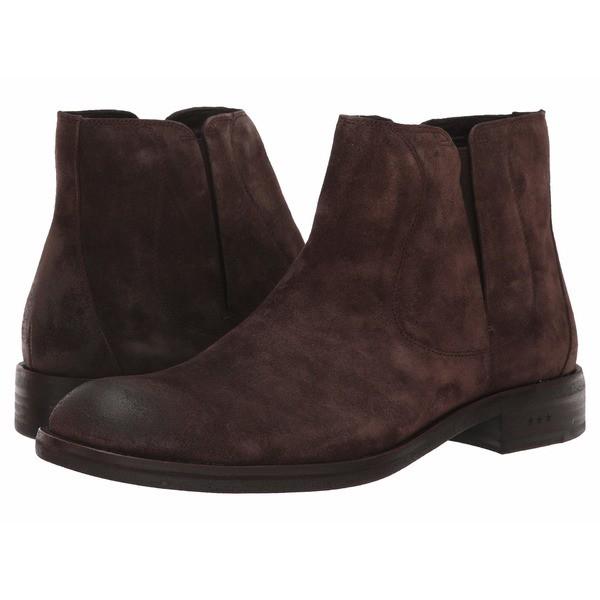 新品本物 ジョンバルベイトス メンズ ブーツ&レインブーツ シューズ Waverly Covered Chelsea Dark Brown, オーシャンポイント 782a57d3