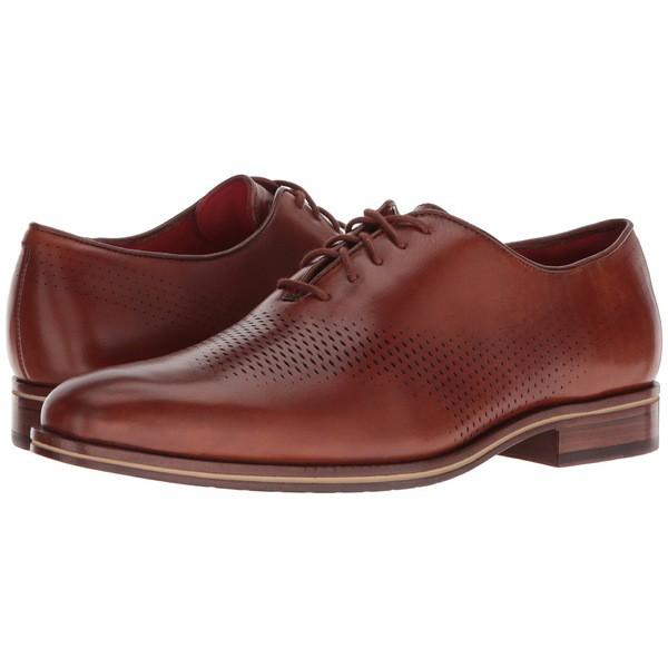 訳あり商品 Laser ドレスシューズ メンズ コールハーン Energy Grand British Oxford Washington シューズ Wing Tan/Lava-靴・シューズ