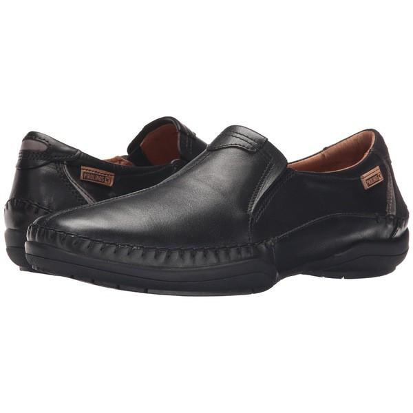 想像を超えての Telmo Black/Dark M1D-6032 San メンズ スリッポン・ローファー ピコリーノス Grey シューズ-靴・シューズ