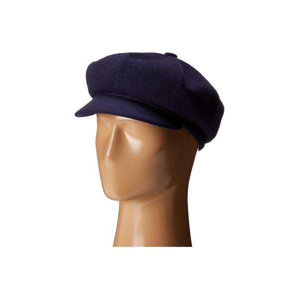 カンゴール メンズ 帽子 アクセサリー Wool Spitfire Navy