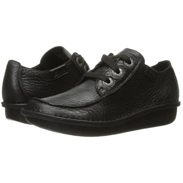 新品同様 クラークス レディース オックスフォード オックスフォード シューズ Black Funny Dream Black シューズ Leather, ハッピーファッションストア:7c023cb6 --- standleitung-vdsl-feste-ip.de