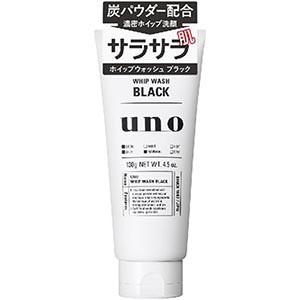 資生堂 ウーノ(uno) ホイップウォッシュ ブラック 130g