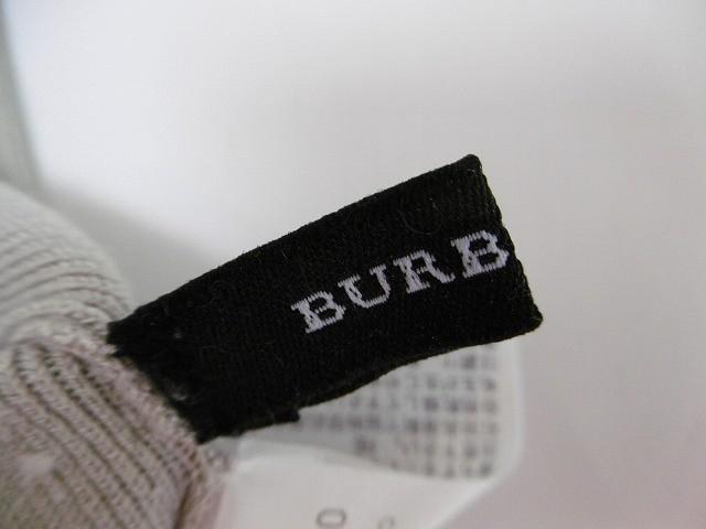 バーバリーブラックレーベル Burberry Black Label ワンピース サイズ38 M レディース ベージュ ニット【中古】