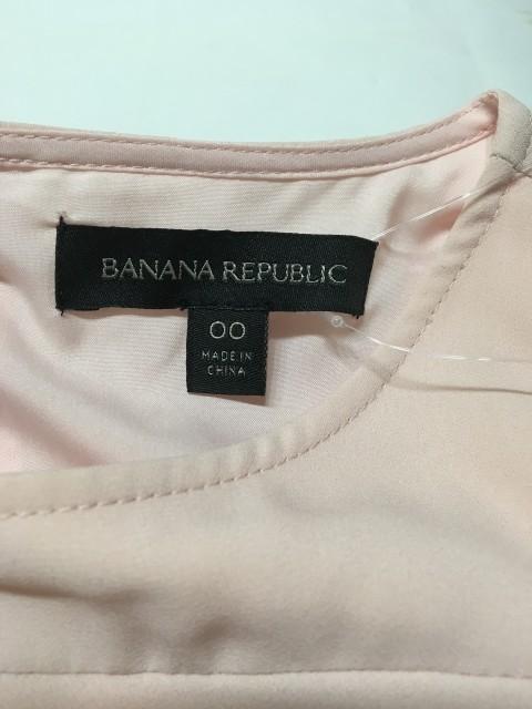 バナナリパブリック BANANA REPUBLIC ワンピース サイズ00 XS レディース ピンク フリル【中古】