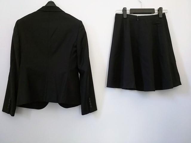ニジュウサンク 23区 スカートスーツ レディース 美品 黒【中古】