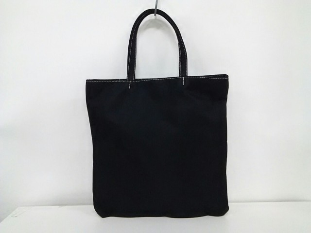 クレイサス CLATHAS トートバッグ レディース 黒×白 ナイロン【中古】