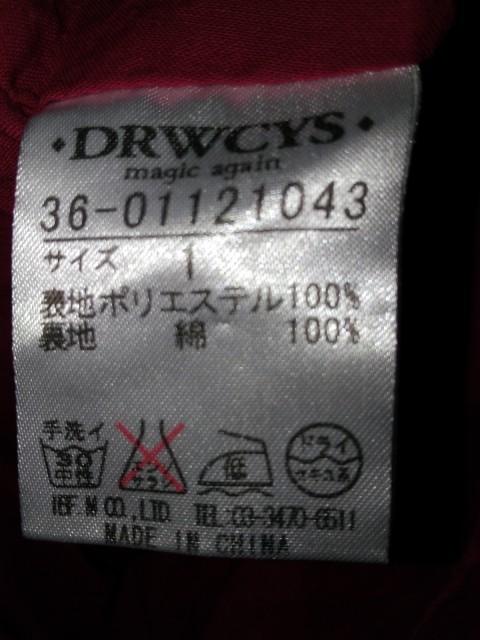ドロシーズ DRWCYS ワンピース レディース レッド×ブルー×マルチ【中古】