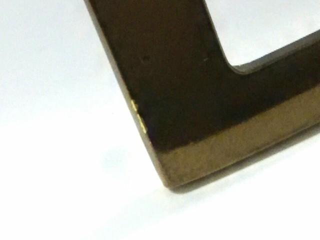 アクアスキュータム Aquascutum ベルト 美品 ゴールド 合皮×金属素材【中古】