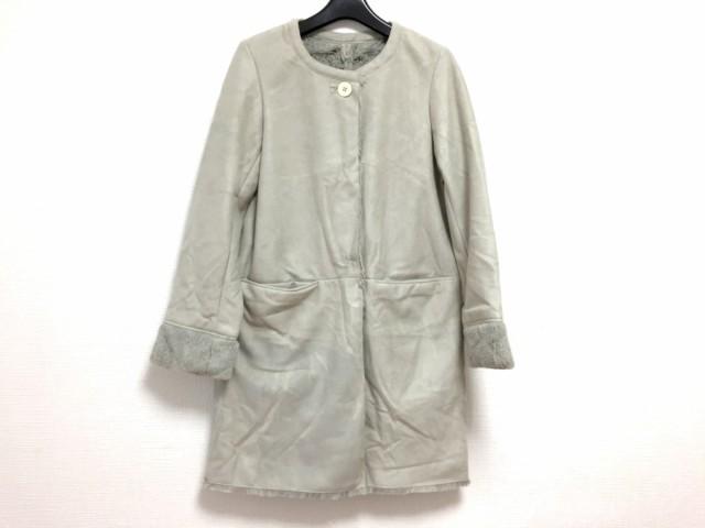 シンプリシティエ simplicite コート サイズ38 M レディース ライトグレー【中古】