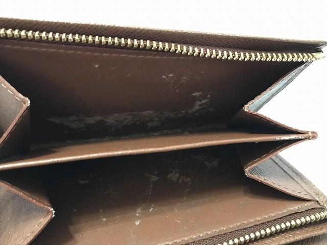 ルイヴィトン LOUIS VUITTON 2つ折り財布 モノグラム ポルトフォイユ・トレゾール M61736 モノグラム・キャンバス【中古】