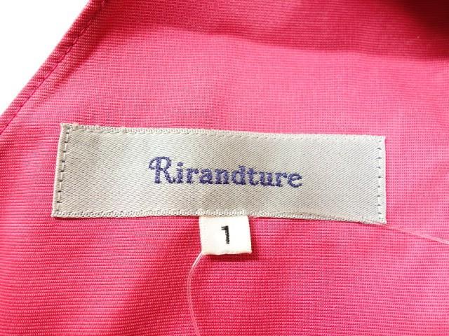 リランドチュール Rirandture ワンピース サイズ1 S レディース ピンク リボン【中古】