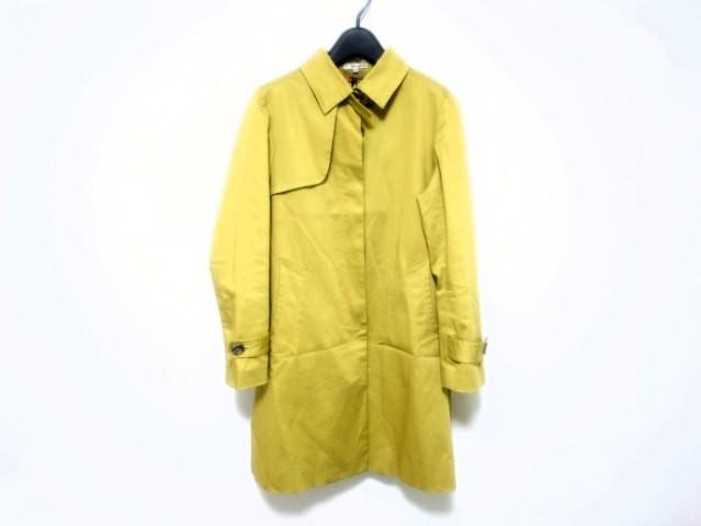 シンプリシティエ simplicite コート サイズ38 M レディース ライトグリーン ロング丈/春・秋物【中古】