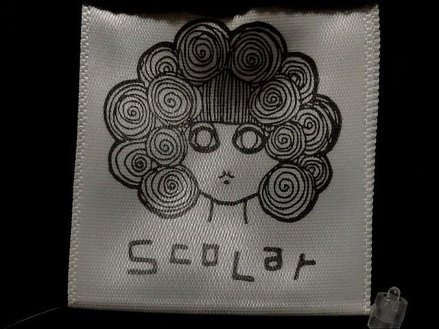 スカラー ScoLar ワンピース サイズM レディース 黒×白×マルチ 動物/ラメ【中古】