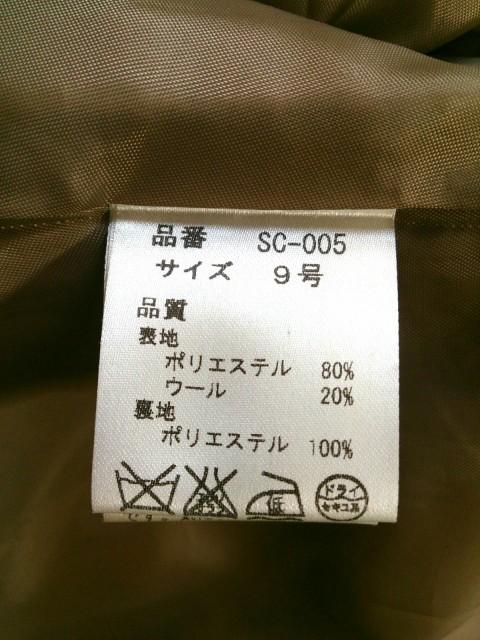 スコットクラブ SCOTCLUB コート サイズ9 M レディース ライトブラウン 冬物【中古】