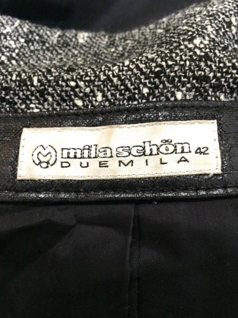 ミラショーン mila schon ワンピース サイズ42 M レディース 黒×白【中古】