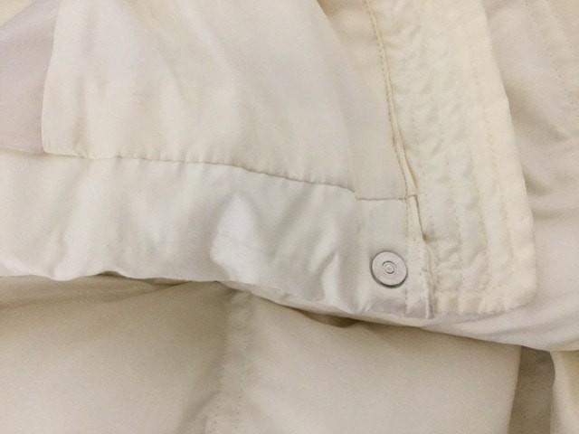 インディビ INDIVI ダウンジャケット サイズ36 S レディース 白 ファー/冬物【中古】