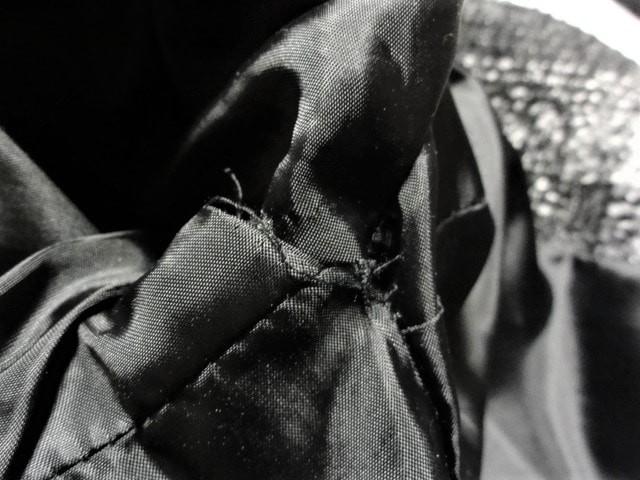 ガリャルダガランテ GALLARDAGALANTE コート サイズF レディース 黒×グレー チェック柄/冬物【中古】