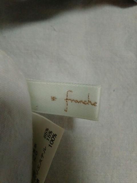 フランシュリッペ franchelippee トートバッグ レディース ブルー 刺繍/ネコ コットン【中古】