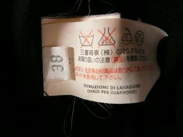 ラルトラモーダ LALTRAMODA ワンピース サイズ38 M レディース 黒×アイボリー×ピンク リボン【中古】