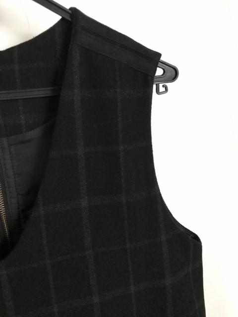 スマートピンク smartpink ワンピース サイズ40 M レディース 黒×グレー チェック柄【中古】