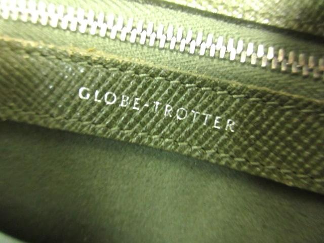 グローブトロッター GLOBE TROTTER ハンドバッグ レディース ジェット スモールボーリングバッグ カーキ レザー【中古】
