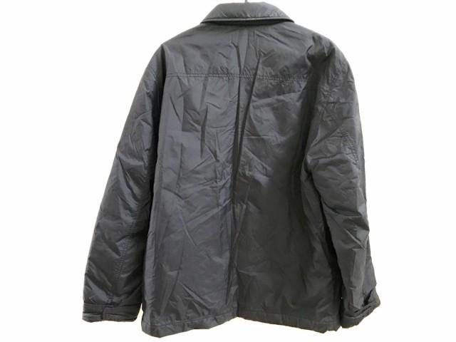 ラコステ Lacoste ブルゾン メンズ 黒 冬物/中綿【中古】