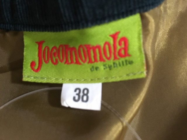 ホコモモラ JOCOMOMOLA パンツ サイズ38 L レディース グリーン コーデュロイ/de Sybilla【中古】