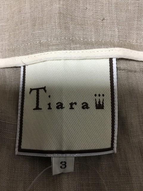 ティアラ Tiara ワンピース サイズ3 L レディース 美品 グレー【中古】