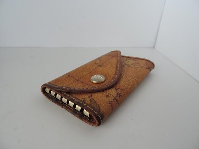プリマクラッセ キーケース レディース ブラウン×ダークブラウン×マルチ 5連フック PVC(塩化ビニール)【中古】