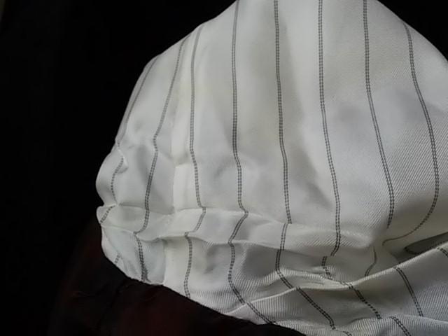 イエナ IENA スカートスーツ サイズ38 M レディース 黒 ストライプ/ベロア【中古】