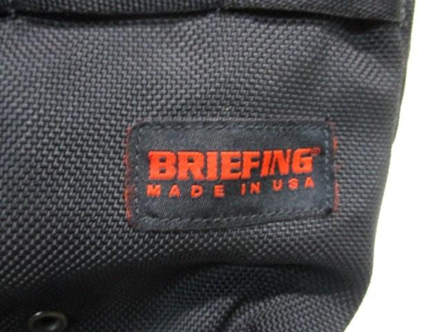 ブリーフィング BRIEFING ショルダーバッグ レディース 黒 ナイロン【中古】