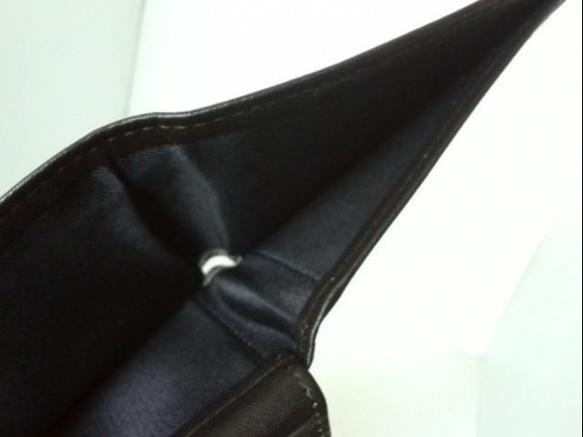 トミーヒルフィガー TOMMY HILFIGER 2つ折り財布 レディース 黒 レザー【中古】
