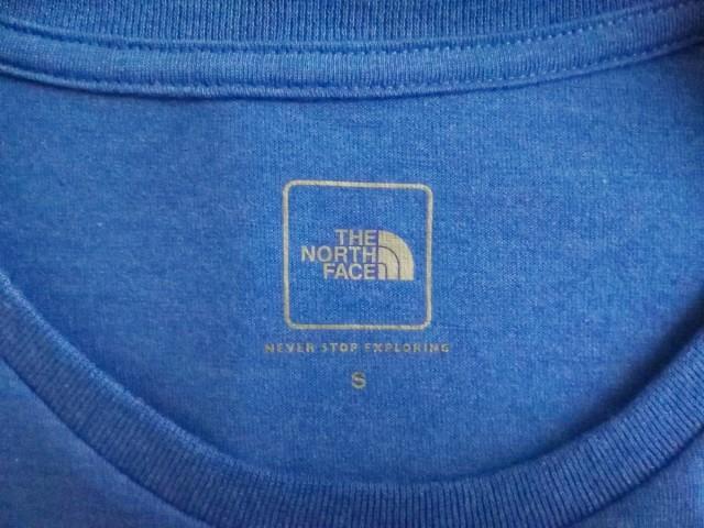 ノースフェイス THE NORTH FACE 長袖Tシャツ サイズS レディース ブルー【中古】