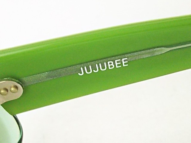 ジュジュビー JUJUBEE サングラス レディース ダークグリーン プラスチック【中古】