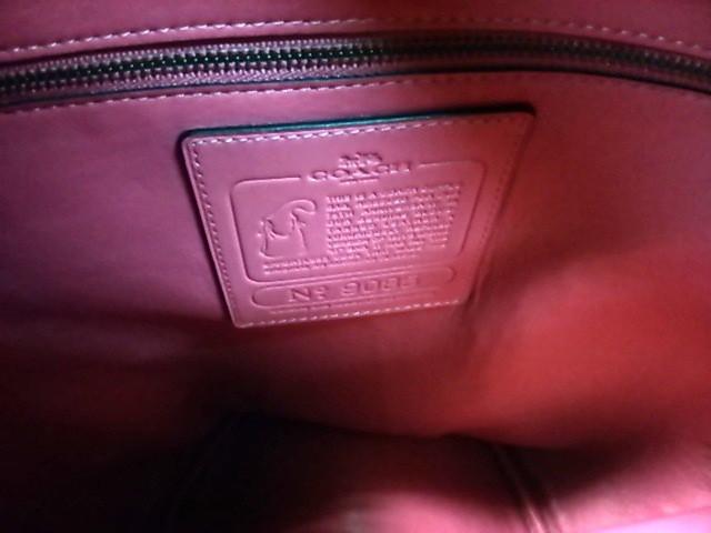 コーチ COACH ショルダーバッグ レディース 美品 - 36821 ボルドー レザー【中古】