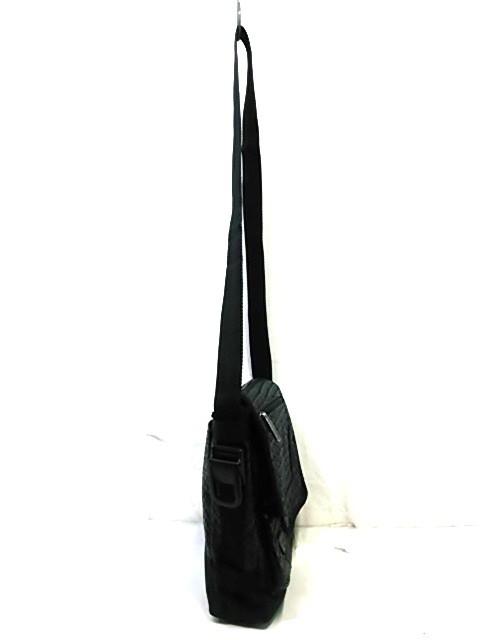 レスポートサック LESPORTSAC ショルダーバッグ レディース 黒 編み込み 合皮【中古】