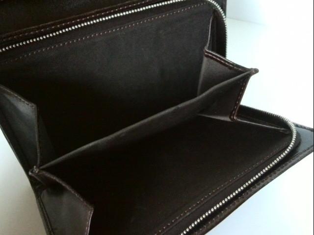 フェンディ FENDI 2つ折り財布 レディース - ベージュ×ダークブラウン ジャガード×レザー【中古】