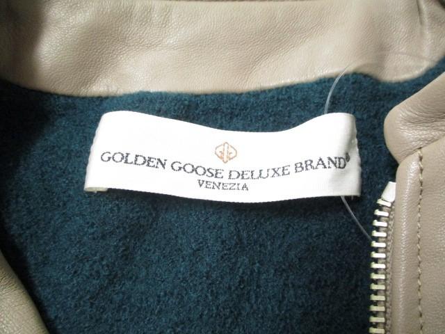 ゴールデングース GOLDEN GOOSE ブルゾン サイズXS レディース ベージュ DELUXE BRAND/レザー/冬物【中古】