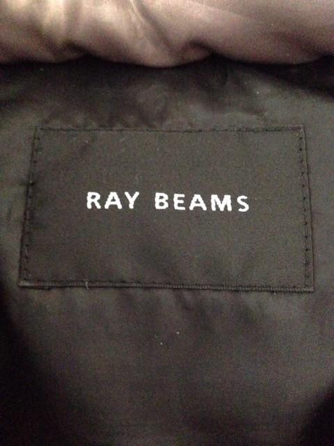 レイビームス RAY BEAMS ダウンベスト レディース 美品 ベージュ 冬物【中古】