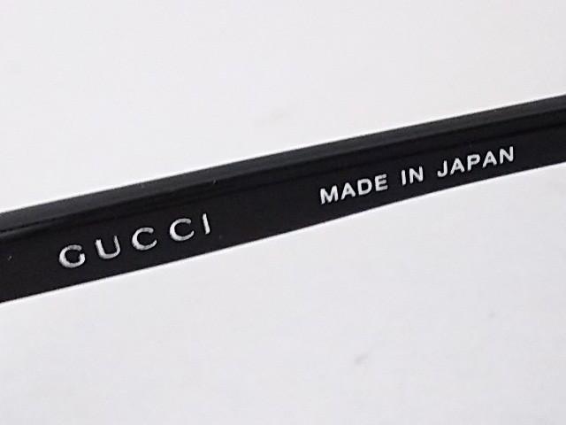 グッチ GUCCI サングラス レディース GG-9015J ブラウン×黒 プラスチック×金属素材【中古】