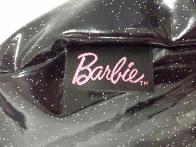 バービー Barbie ショルダーバッグ レディース 美品 黒 PVC(塩化ビニール)【中古】
